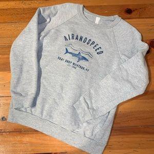 American Apparel Gray Sweatshirt Boys 12
